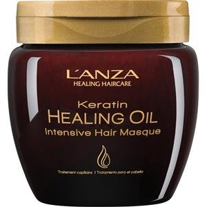 L'ANZA Keratin Healing Oil Intensive Hair Masque, 7.1 oz.