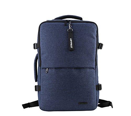 Business Casual Laptop-Rucksack Gepäck bis 38,1cm Laptop/hohe Qualität Polyester/Tote Rückseite Umhängetasche erhältlich (Navy Blau)