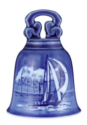 (Royal Copenhagen 2012 Royal Copenhagen Christmas Bell Horns Rev)