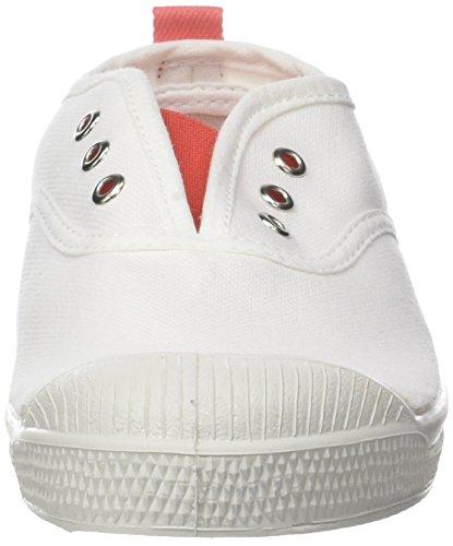 Bensimon Tennis Elly Whity, Zapatillas Unisex Niños Naranja (Corail)