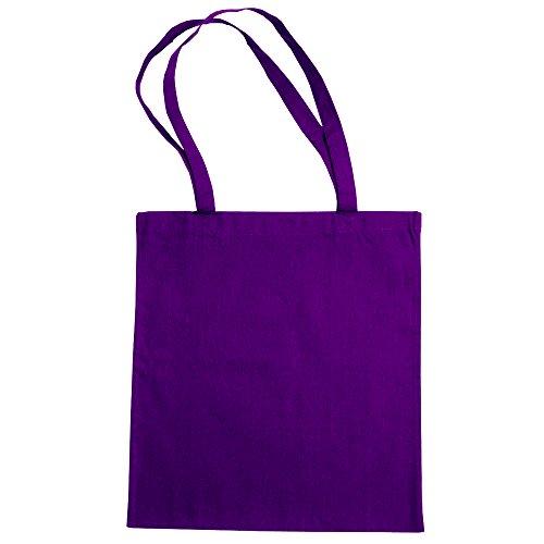 Algodón De 2 Mano Bolsa Bags Lila paquete Compra La Grande de By Jassz tqAwH8