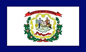 West Virginia bandera 4x 6pies–bandera de Nylon al aire libre