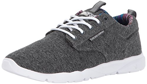 DVS Shoes Women's Premier 2.0+ Wos Skate Shoe Charcoal Jersey Knit 4drJk