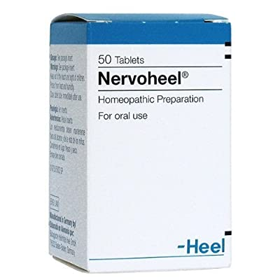 Nervoheel 50 Tablets Stress Reliever & Anxiety Reliever By Bulgarian Products by Heel Inc.