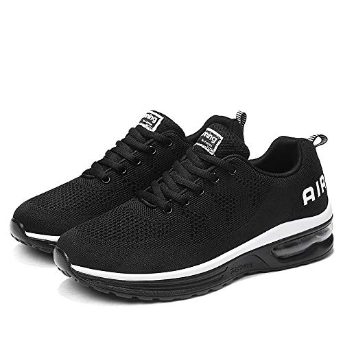 Sneakers For Women And Men, HOT SALE !! Farjing Lightweight Athletic Running Shoes Breathable Sport Fitness Jogging Sneakers(US:10,Black ) by Farjing