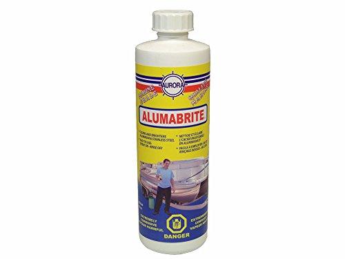 Aurora Alumabrite Aluminum Cleaner Easy to Use 16oz. (Cleaner Aluminum Brite)