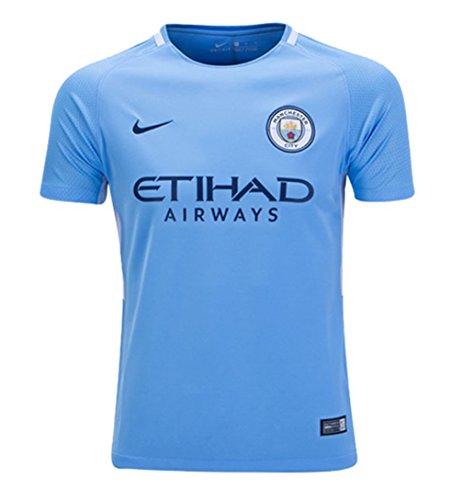 Nike Youth Breathe Manchester City FC Stadium Jersey [Field Blue] (M) (Toddler Manchester City Jersey)