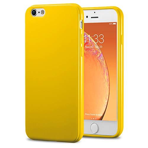iphone 6 plus bumper case yellow - 7