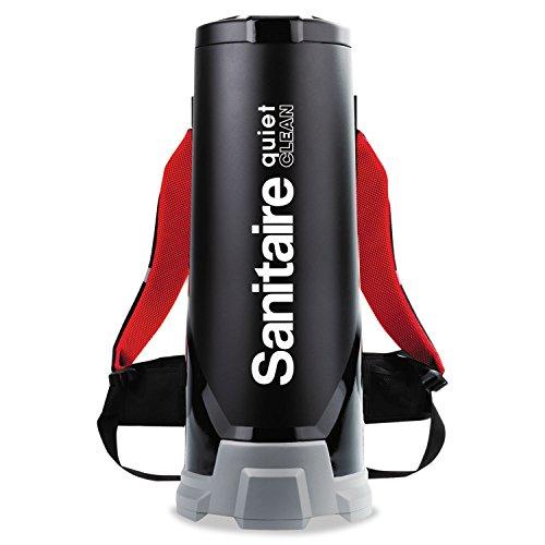 (Sanitaire EUKSC535 Backpack Vacuum, 11.50 amp, 2.50 gal, Black)