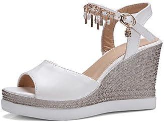 enochx Femme Sandales d'été automne Club Chaussures Pu
