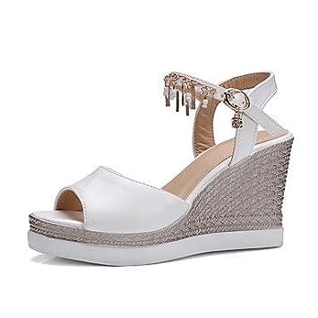 Automne Pu Femme Club Enochx Chaussures Sandales D'été Mariage l1TJFKc