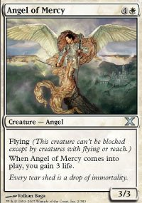 Magic: the Gathering - Angel of Mercy (2/383) - Tenth Edition