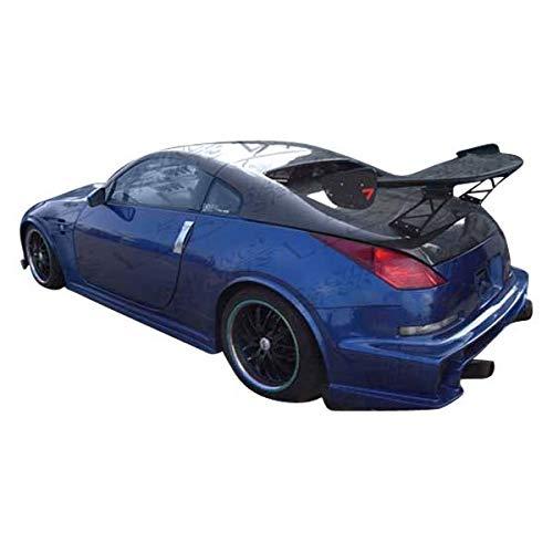 (VIS Racing (VIS-QJH-688) Tunnel Style Hatch Carbon Fiber - Compatible for Nissan 350Z 2003-2008 (2003 2004 2005 2006 2007 2008 | 03 04 05 06 07 08))