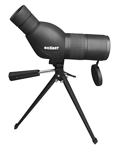 41qZpmgXvBL - Roxant Authentic Blackbird High Definition Spotting Scope With ZOOM - Fully Multi Coated Optical Glass Lens + BAK4 Prism. Includes Tripod + Case + Lifetime Support