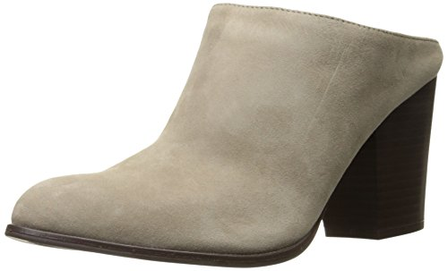 Kenneth Cole REACTION Women's Tap Dance Slip Shootie with Western Heel-Suede Ankle Bootie, Taupe, 8.5 M US