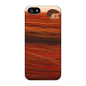 Fashion Tpu Case For Iphone 5/5s- Brendan Monroe Defender Case Cover