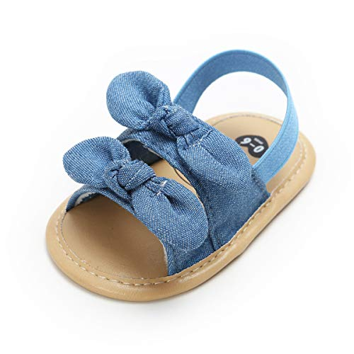 3765894be1131 Mybbay Infant Baby Girls Sandals Rubber Soft Sole Summer Sweet ...