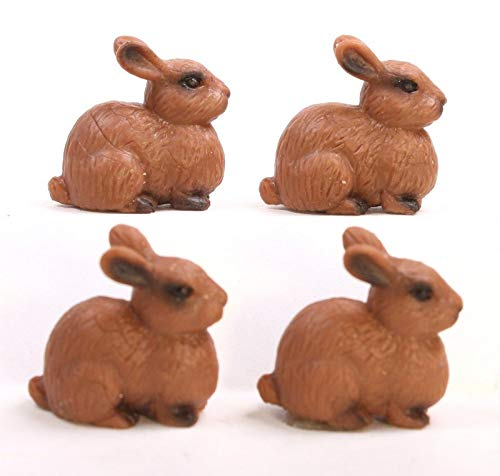 Meyer Imports Rabbits - Realistic Little Bunnies Dollhouse M