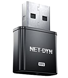 Net-dyn Usb Wireless Wifi Adapter 300mbps, Mini Wifi Adapter Network Card With Internal Antenna, Twice The Strength Of The Standard Mini Wireless Internet Dongle, By