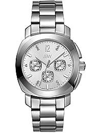 JBW Women's J6298A Marigny Analog Display Swiss Quartz Silver Watch