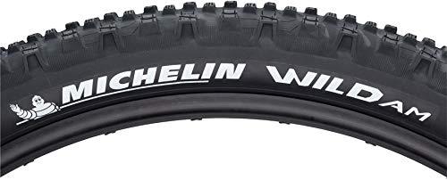 Michelin Michelin, Wild AM, Tire, 27.5''x2.80, Folding, Tubeless Ready, Gum X, 60TPI, Black,