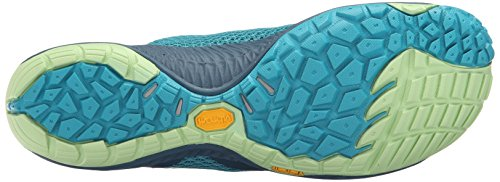 Trail Turquoise 6 Glove Shoe Adult Running Pace M US 3 Merrell tPYgq6ww