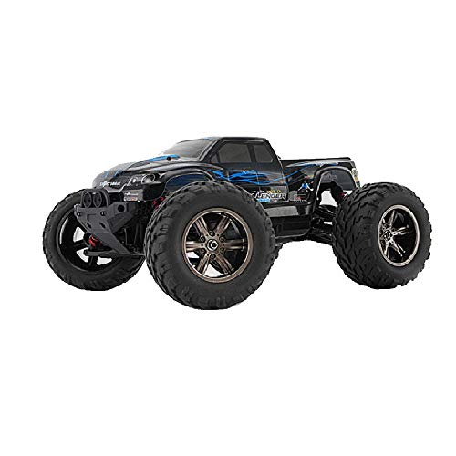 (RC Car 1:12 4WD High-Speed Off-Road Remote Control Car 50km/h 2.4GHz All Terrain Radio Remote Control Car,Blue)