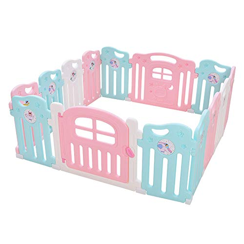 Barandillas para Camas MAHZONG La Cerca plástica del Sitio de la partición del bebé del niño Dirige los carriles...