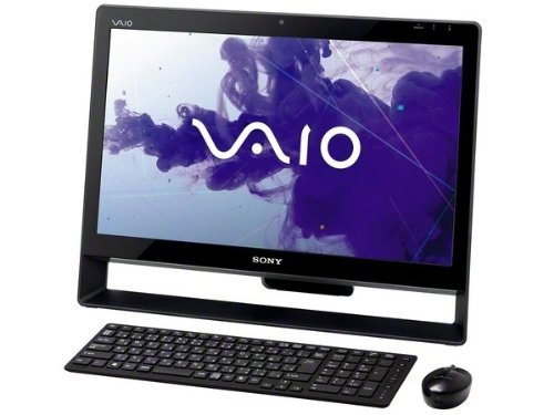 SONY VAIO デスクトップ Jシリーズ 21.5型ワイド液晶フルHD 本体ブラック&べゼルブラック intel Core i3(2.30GHz) メモリー4GB HDD約1.5TB DVDスーパーマルチドライブ 802.11bgn Windows 7 Home Premium Officeなし 3年保証   B007V8K0OA