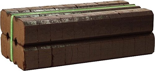 Peat Brick - Bord Na Mona Irish Peat Briquettes (20-22 Fire Logs), Brown