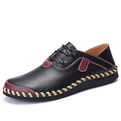 03cff31c7 LOVDRAM Zapatos De Cuero para Hombres Otoño