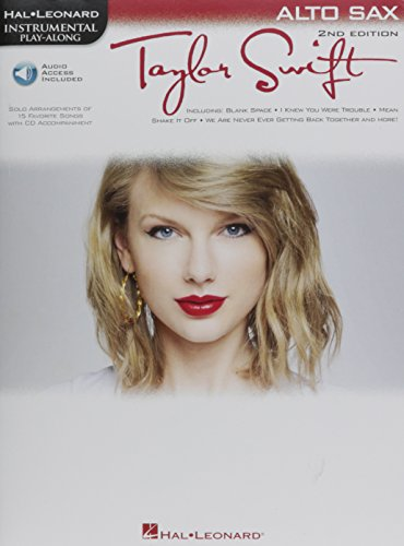 Taylor Swift: Alto Saxophone Play-Along Book with Online Audio (Instrumental Play-Along)