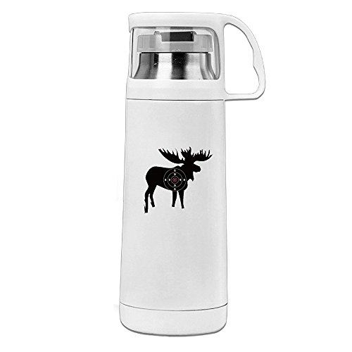 Meer With Bulls Target Stainless Steel Insulated With Lid Cup Thermos - Changing Prescription Lenses