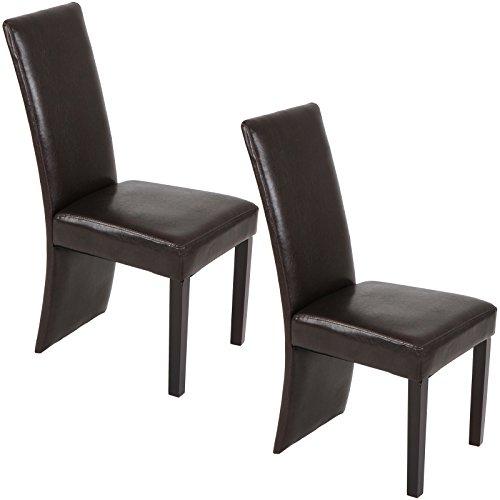 Miadomodo Set sedie da sala da pranzo cucina soggiorno imbottita ...