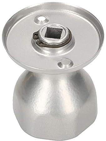 1 unidad bola de acero lacado Pomo giratorio para puerta 5 colores pomo para puerta resistente KOTARBAU
