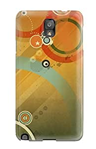 For Galaxy Note 3 Protector Case Retro Phone Cover by icecream design
