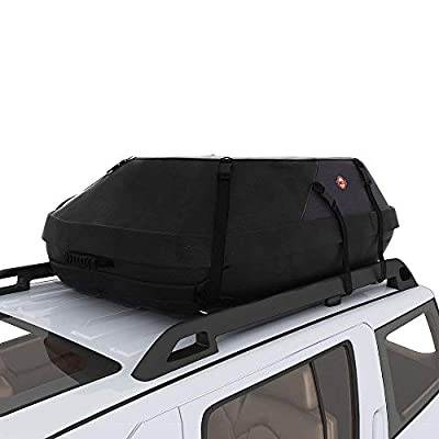 adakiit Car Roof Bag Top Carrier Cargo Storage Rooftop Luggage Waterproof Soft Box Luggage Outdoor Water Resistant for Car with Racks,Travel Touring,Cars,Vans, Suvs