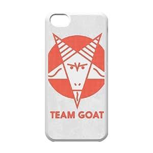 iPhone 5c Cell Phone Case White TEAM GOAT Qxebt