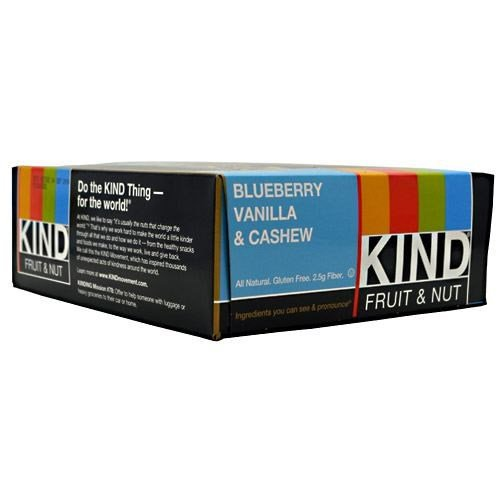Kind Fruit & Nut, Blueberry Vanilla & Cashew by KIND SNACKS