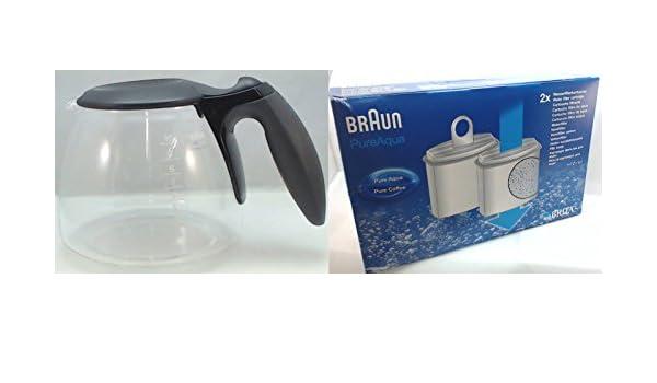 Braun – Cafetera eléctrica jarra, AromaDeluxe, 0 X 63104704 ...
