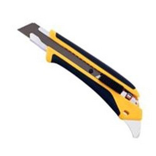 Olfa Utility Knife Snap-Off Yellow/Black Black Carded