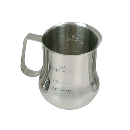 24 Espresso Milk Pitcher with Measuring Scale, 24-Ounce (24 Ounce Milk Pitcher)