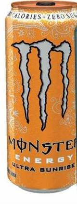 Monster Energy Drink Ultra Sunrise
