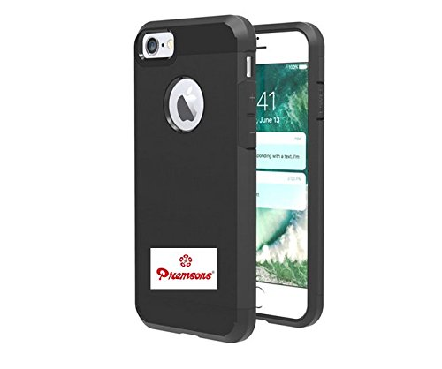 iPhone 7 Original Armour Shock Proof Rubber Bumper Apple Back Cover Case (Black) New Arrival Best Selling Premium Quality Lowest Price Heavy Duty Design, Firm Fitted, Slim Profile, Durable, Clear Protective Layer, Tough Impact Resistant, Complete Access to All Sensors, Camera, Features & Buttons, Easy to Install & Remove, Non Toxic, Odour Free, Anti Fingerprint, Ultimate Protection to Smart Phone from Dirt, Dust, Scratches, Scrapes, Bumps & Accidental Falls