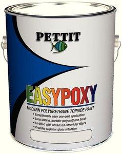 Pettit Marine EasyPoxy Polyurethane Topside Boat Paint Black (Easypoxy High Gloss Paint)
