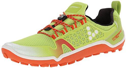 Vivobarefoot Vrouwen Trail Buitenissig Off-road Run-walk Trail Schoen Lime / Oranje