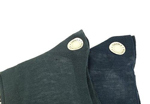 Calze Rinforzati day Abbigliamento Uomo Filo 6 Intimo Blu Eleganti Paia Di Colorate Lunghe Antracite Moda Grigio Scozia 100 O A Calzini Rimagliati Nero Cotone Ufficio Mano xfqwp7dg