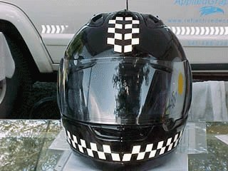 Reflective Motorcycle Helmet Decals Custom Vinyl Decals - Custom vinyl stickers for helmets