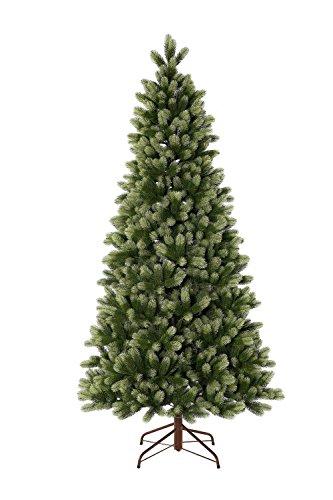 Royal Fir Tree - KING OF CHRISTMAS 7.5 Foot Royal Fir Slim Quick-Shape Christmas Tree