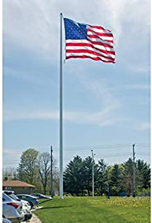 product image for Eder Flag - Endura-Nylon U.S. Outdoor Flag - Proudly Made in The USA - Durable - Fade-Resistant - Reinforced Fly Stitching - Heavy-Duty Duck Cloth Headers - Quality Craftsmanship (30 x 60 Foot)